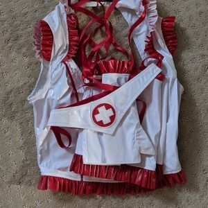 Lip Service nurse costume size small
